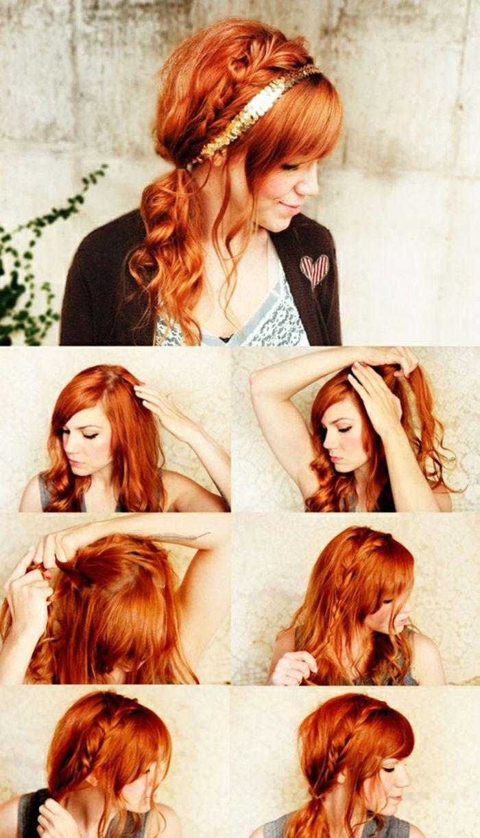 Coiffure mariage cheveux mi long idée coiffure coupe mi longue