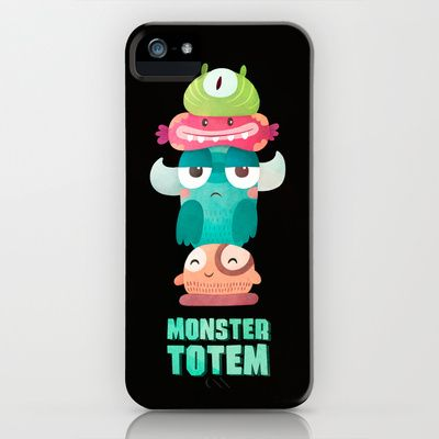 Monster Totem iPhone & iPod Case
