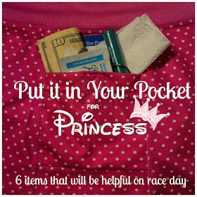 what to pack for a run disney race