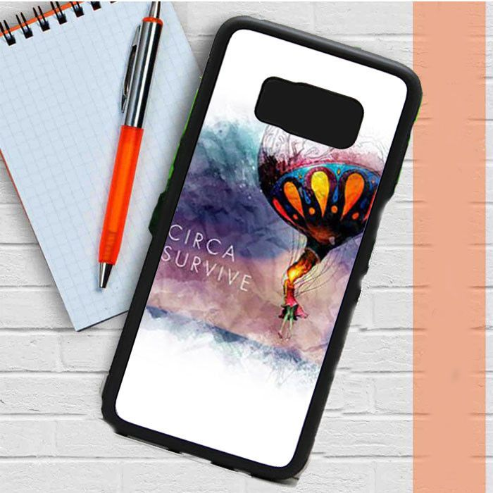 Circa Survive Artwork Samsung Galaxy S8 Case Dewantary