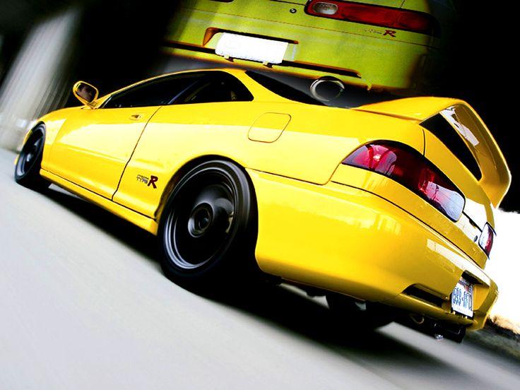 Bon Cars Honda Integra Type R Yellow Acura