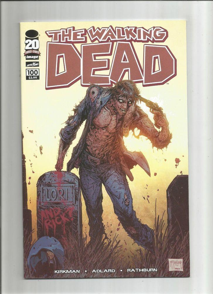 WALKING DEAD #100 McFarlane variant! 1st Negan! Death of Glenn! NM  http://www.ebay.com/itm/-/301850698982?roken=cUgayN&soutkn=cretDs