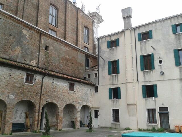 Collegio dei Gesuiti di Venezia - cortile interno