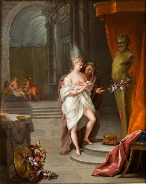 Offering to Priapus Jean Raoux, c. 1721