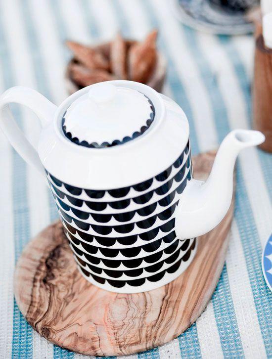 House of Rym tea pot