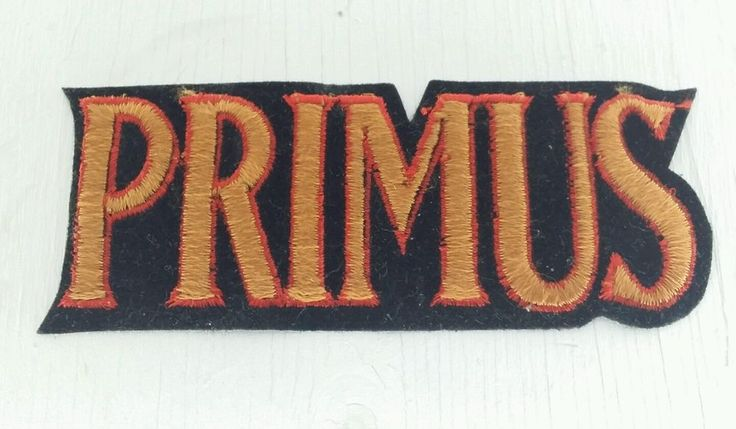 PRIMUS BAND PATCH