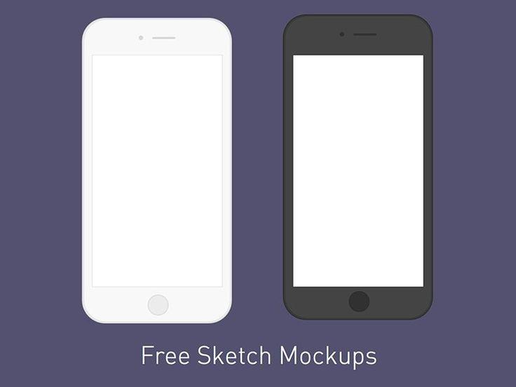 Free Minimal iPhone Mockup
