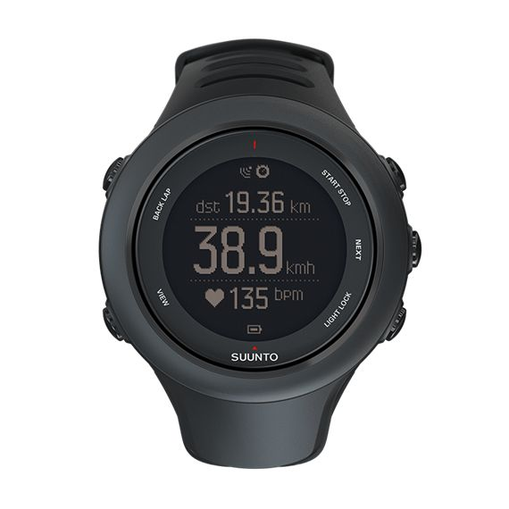 Suunto Ambit3 Sport Black – GPS-часы для многоборья