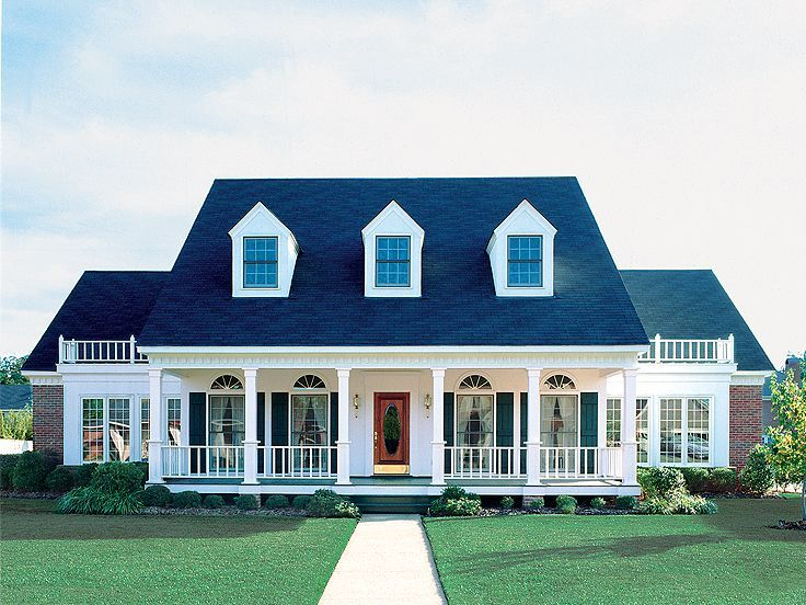Best House Plans Images On Pinterest Country House Plans - Colonial cape cod style house plans