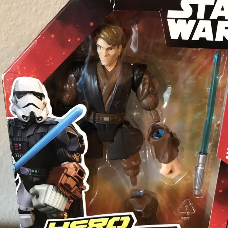 STAR WARS Hero Mashers ANAKIN SKYWALKER Toy Action Figure Disney New In Box #Hasbro