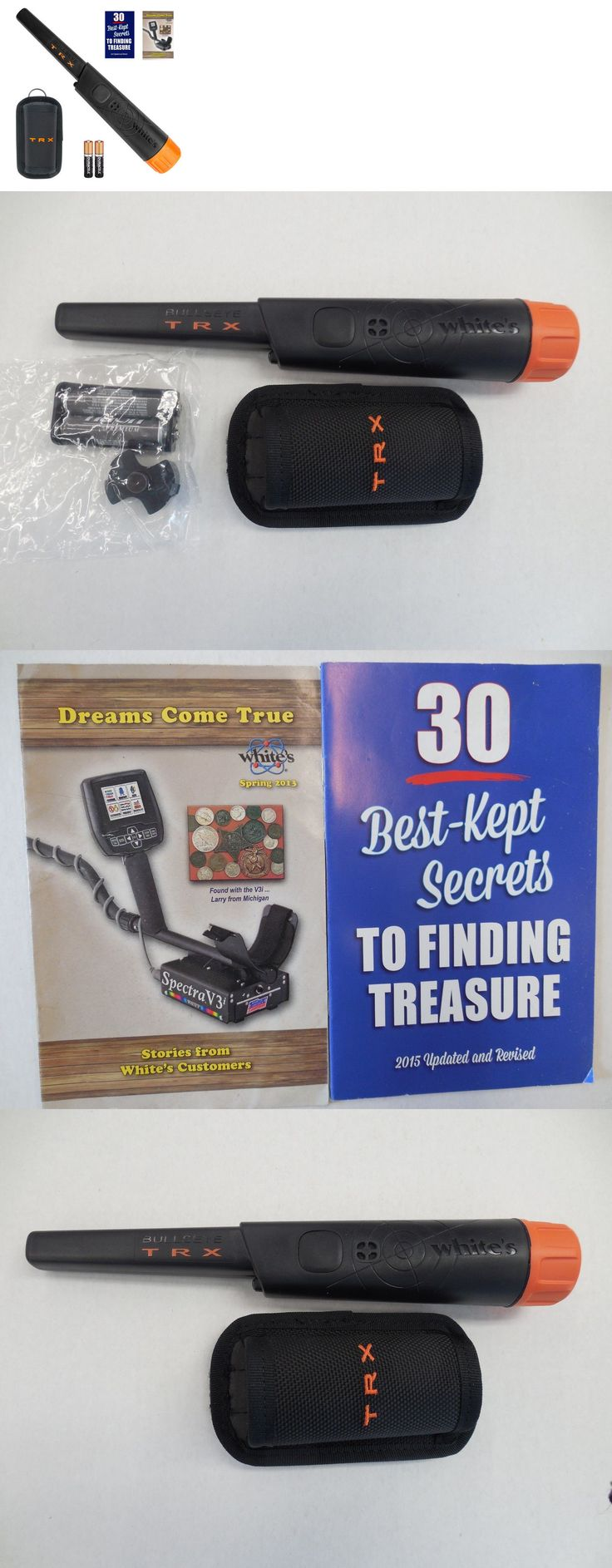 Metal Detector Accessories: Whites Trx Pinpointer W Free Holster, 30 Best Kept Secrets, And Dreams Come True -> BUY IT NOW ONLY: $149.95 on eBay!