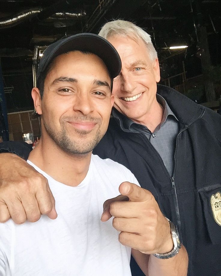 Wilmer Valderrama & Mark Harmon                                                                                                                                                                                 More