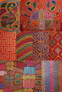 Kuna Mola patterns, San Blas, Panama