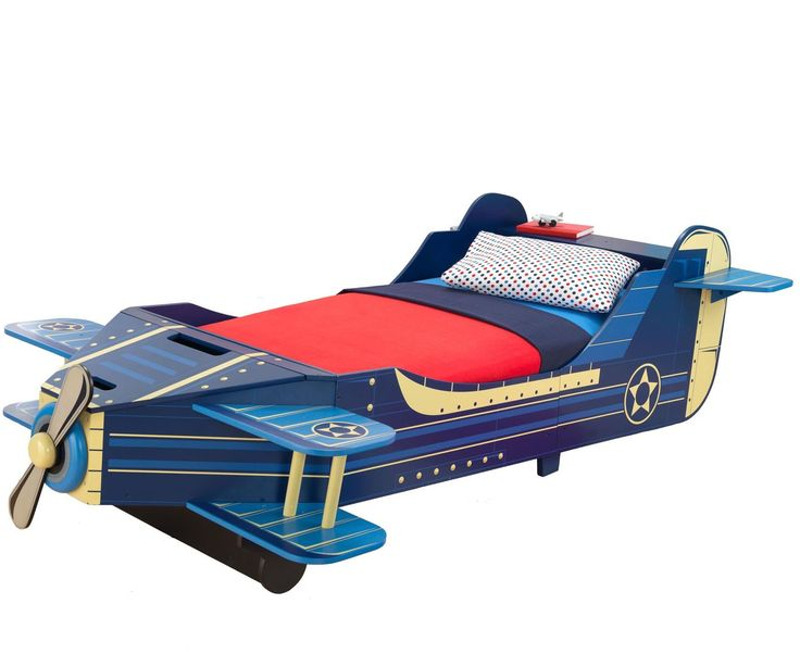 KidKraft Airplane Bookcase- Blue   Convertible toddler bed ...