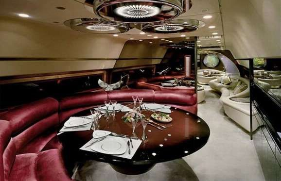 Airbus A340-300 Private Jet: $450+ million (£310+m): The interior of the aircraft is a closely... - Courtesy Viled