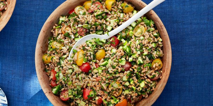Quick Summer Grain Salad