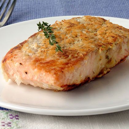 recipe: panko horseradish crusted salmon recipe [15]