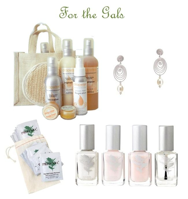 Sweet Violet Bride's top picks for bridesmaid gifts from the Green Bride Guide