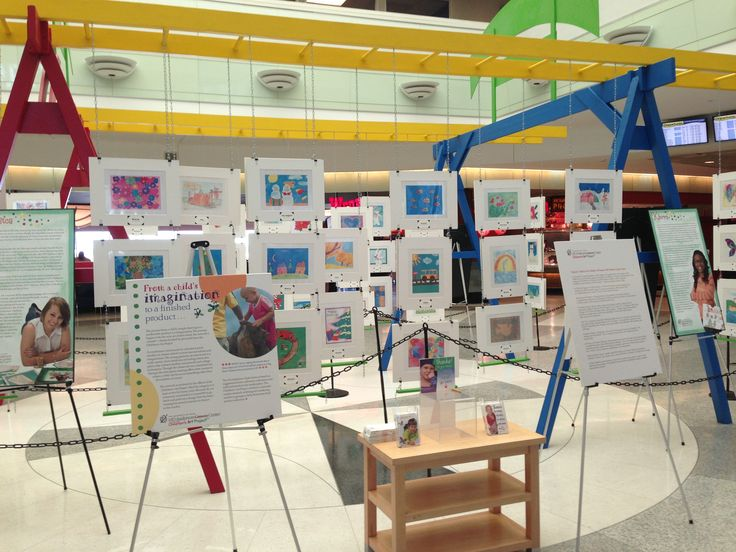 The MD Anderson Childrens Art Project will have the children's artwork on display at the William P Hobby Airport until 10/30/13. Hope everyone gets to see the great work as they travel!