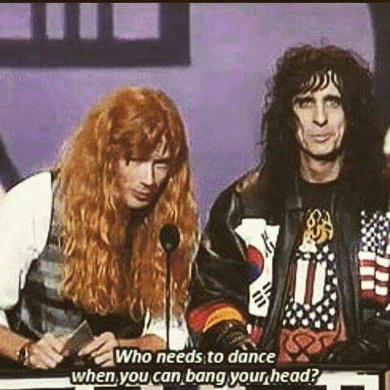 Dave Mustaine & Alice Cooper
