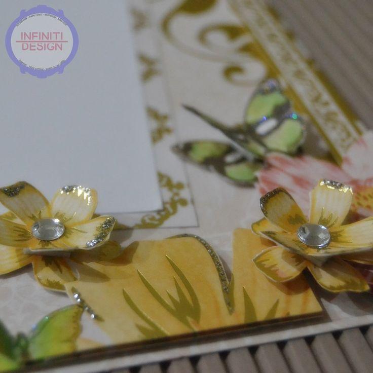 wedding scrapbook details - flowers