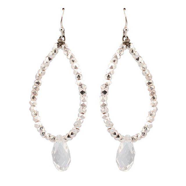 Teardrop Bead Earrings    Glint teardrop bead earrings       $140
