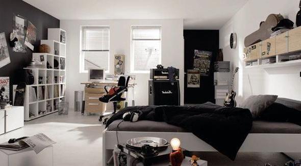 Teen Room Ideas   White Room Designs for Teenage Boys bedroom 10+ Teenage Boys Room ...