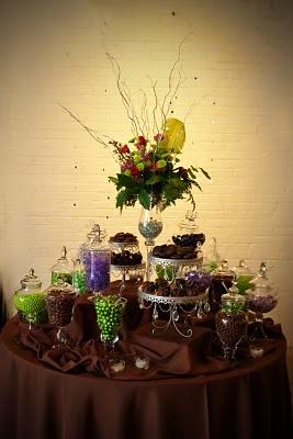 The Kentucky Candy Buffet Co.: Purple, Green & Chocolate Buffet!