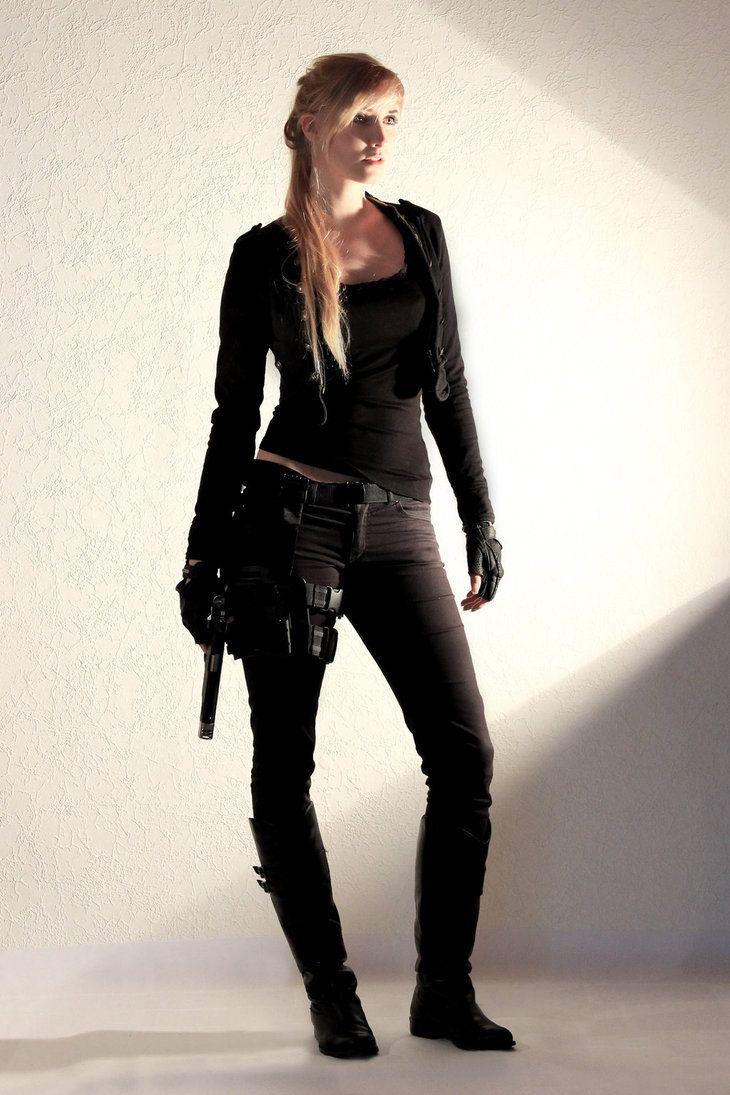 Female Agent STOCK V by PhelanDavion on DeviantArt see also…