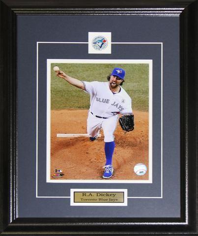 R.A. Dickey Toronto Blue Jays 8x10 photo framed $59.99 plus tax