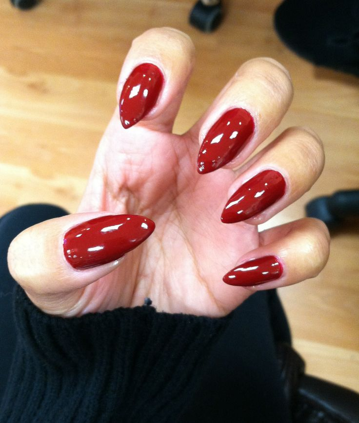 Red Stiletto Nails: 1000+ Ideas About Red Stiletto Nails On Pinterest