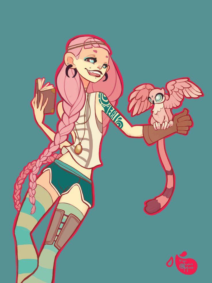 Explorer Character by MeoMai on DeviantArt