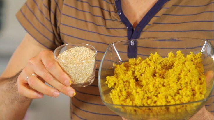 Le video ricette: le polpette di quinoa - cruda vs. cotta