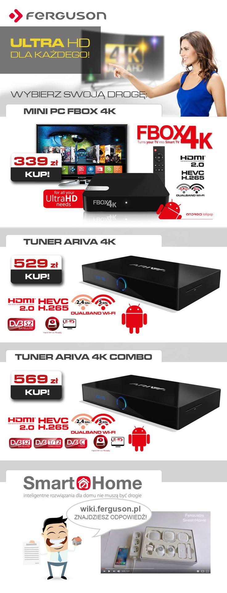 Nasz najnowszy mailing z myślą o fanach 4K!  Ultra HD dla KAŻDEGO! https://sklep.ferguson.pl/pl/searchquery/4K+UHD/1/desc/5?url=4K,UHD