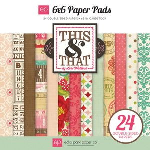 Collections | echo park paper co. Echo Park This and That Graceful collection