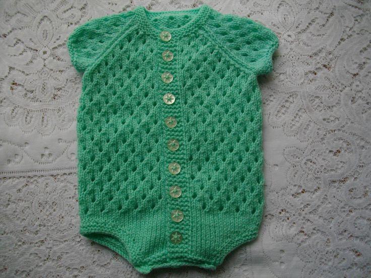 Ravelry: 13. Baby Onesie 0-3 Months by Lynne Christie