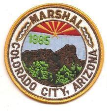 COLORADO CITY ARIZONA MARSHAL POLICE PATCH