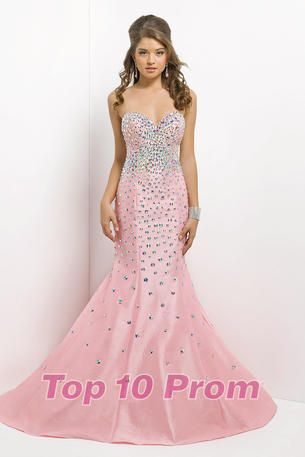 Pearl Pink Prom Dress Merle