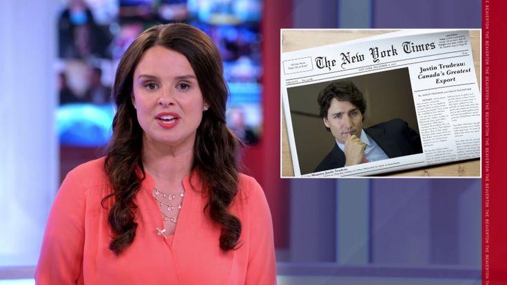 Justin Trudeau v. New York Times Trudeau: The Beaverton