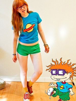 18 Fun DIY Nickelodeon Cartoon Halloween Costume Ideas | Gurl.com