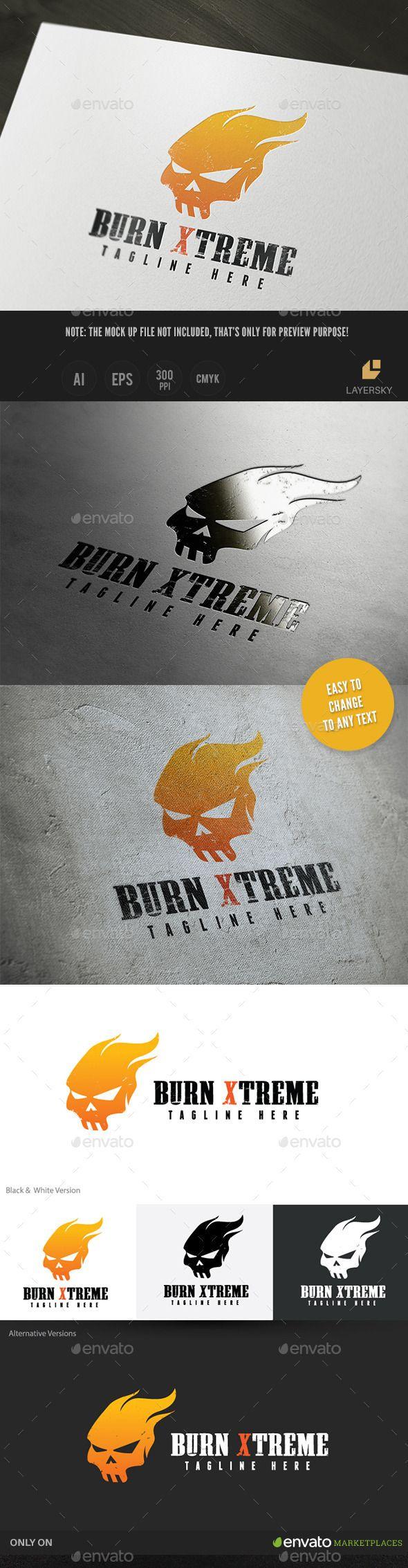 Buren Extreme Logo Template Vector EPS, AI. Download here: http://graphicriver.net/item/buren-extreme/11386409?ref=ksioks