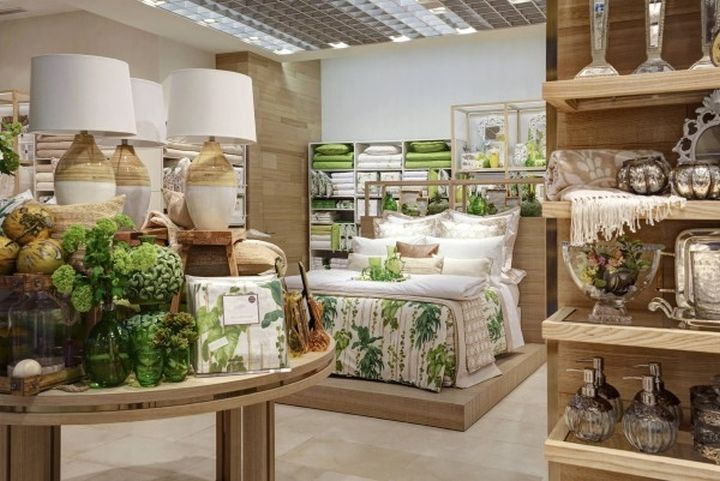 Retail Design Blog — Zara Home Windows, Milan - Italy. Visual merchandising. Store display. Home accessories.