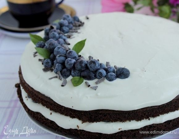 Черемуховый торт с голубикой  Гармоничный, ни с чем не сравнимый черемуховый торт. Голубика прекрасно дополняет и освежает вкус.  #едимдома #рецепт #готовимдома #кулинария #домашняяеда #черемуха #торт #голубика