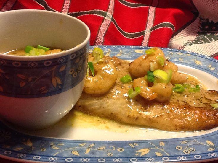 Zelf lust ik geen vis... maar mijn 2 mannen zijn er dol op ... Dus ook voor deze kerstserie maakte ik graag een luxe vis gerecht... Von...