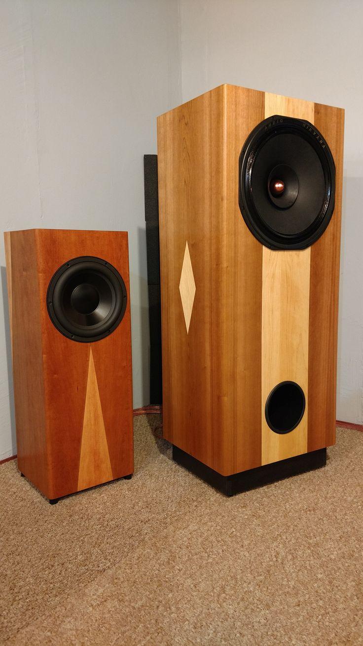 Pin by DIY Full Range Speakers on DIY Full Range Speakers