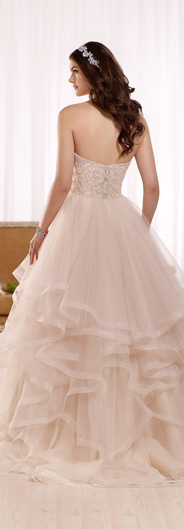Best wedding dresses for broad shoulders   best Wedding gowns images on Pinterest  Wedding frocks Cute