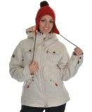 Levi Trucker Insulated Snowboard Jacket Bleach $260 http://www.levis-outlet.com/levis-woman-jackets/686-levi-trucker-insulated-snowboard-jacket-bleach-heringbone-womens/
