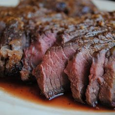 "London Broil II | ""The marinade is so flavorful you'll skip the steak sauce."""