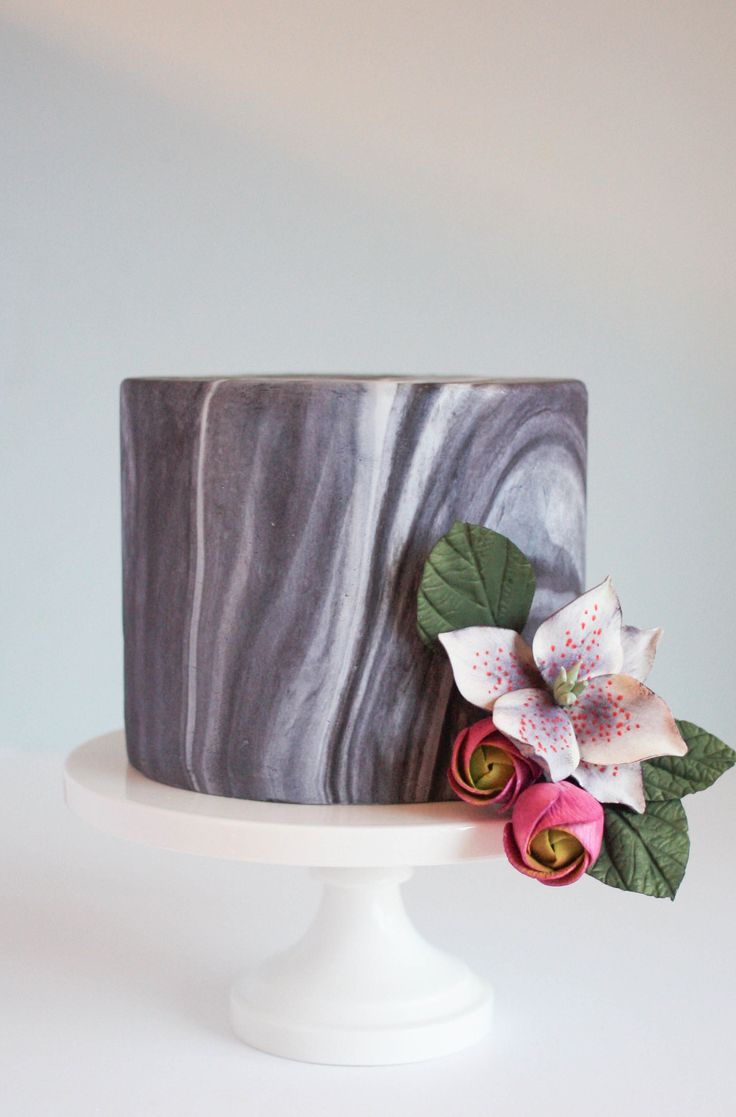 Roll, twist, bend, squish! Learn how to marble fondant to create a timeless cake finish with this FREE step-by-step photo tutorial.