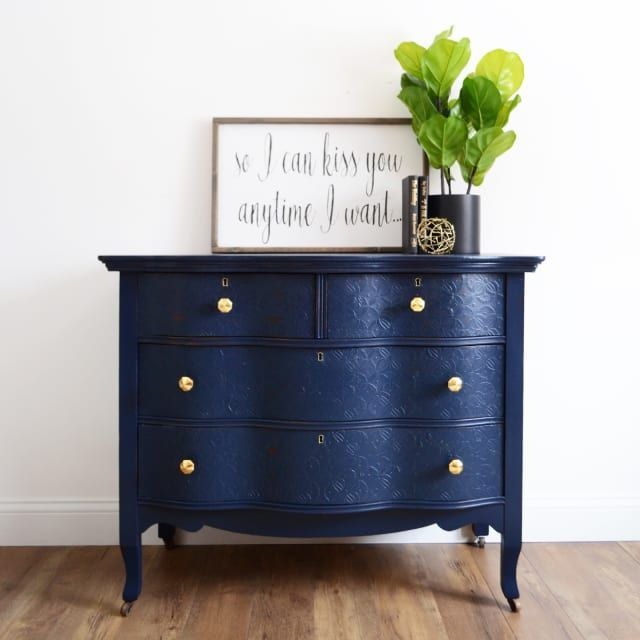 Clever Paint Jobs That Make Your Old Cheap Or Thrifted Furniture